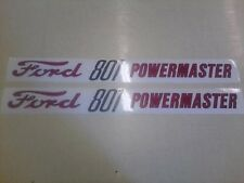 Ford 801 Hood Decals