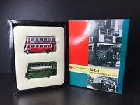EFE 1/76 London Transport AEC Regent STL's Set 9 Diecast Model Bus Set