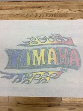 YAMAHA vintage 70s iron on t shirt transfer