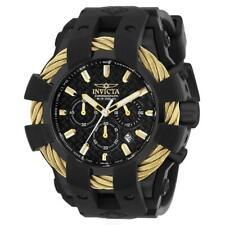 Invicta Bolt 23866 Men's Round Analog Chronograph Date Black Silicone Watch