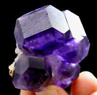 65.5g Gem Level !!! Transparent Blue Fluorite Crystal Mineral Specimen/China