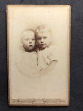 Netherlands Victorian Carte De Visite CDV Named Family: RÜBSAAN Siblings