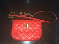 MARC JACOBS VINTAGE FLAMING RED CROSSBODY VERY RARE STUDDED BAG!AMAZING QUALITY!