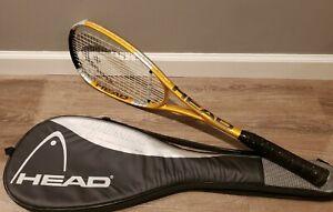 HEAD LIQUIDMETAL 140 Squash Racquet Racket with Original Cover
