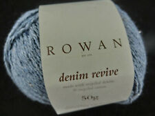(11 €/100g): 50 g  Rowan DENIM REVIVE, Sh 00212 airforce Lot 299601 # 3722