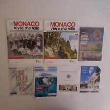 8 documents Monaco ville patrimoine art culture vintage art déco XXe PN France