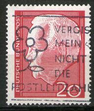 Ungeprüfte Briefmarken aus der BRD (ab 1948) mit Blumen-Motiv als Einzelmarke