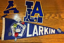 Larkin High School Senior Items - Letters, Diploma, Pins, and Awards P-492
