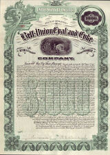 Bell-Union Coal and Coke Company > 1908 mining $1,000 bond certificate