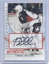 2007-08 BETWEEN THE PIPES JONAS HILLER AUTO BTP SIGNATURE DUCKS