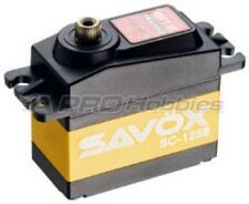 Savox SC-1258TG SUPER SPEED Titanium Gear Standard Digital Servo .08s/166.6oz-in
