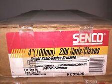 """Kc31Apb New Senco Smooth Nail, 4"""" X .131 Per Box Of 2.4M"""