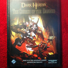 Warhammer 40k Roleplay: Dark Heresy - The Church of the Damned Hardcover NEW
