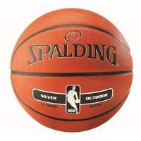 Spalding Silver Basketball NBA Indoor Outdoor Rubber Size 7