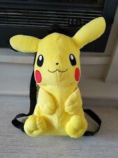 Pikachu Pokemon plush rucksack backpack bag
