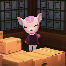 Diana Animal Crossing New Horizons (IN BOXES, Ready to Move) Same Day Pickup!