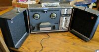 NATIONAL REEL TO PLAYER MODEL RS-776 JAPAN LARGE SPEAKERS AUTOMATIC REVERSE vtg