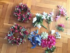 Artificial Flowers Lot For Crafts Diy Supply Various Roses project