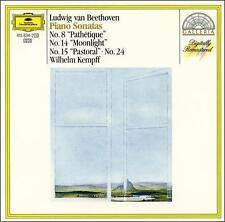 """Beethoven: Piano Sonatas  No. 8 """"Pathetique"""", No. 14 """"Moonli *NO CASE DISC ONLY*"""