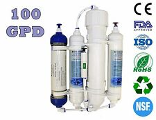 Finerfilters Aquatic 4 Stage Compact Reverse Osmosis Unit with DI Resin (100GPD)
