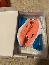 Nike Air Max 270 CI5856-600 Pink Lava Glow- Blue Women's Shoe Size 6.5