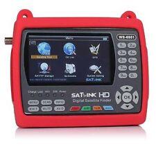 Satlink WS-6951 Pointeur Satellite DVB-S2 avec écran couleur