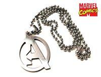 Avengers Marvel Comics Metal Pendant Necklace  US Seller Marvel Comics movie USA