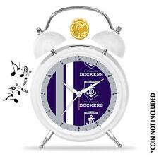 AFL Freemantle DOCKERS Money Bank Money Box Lights Up Alarm Clock