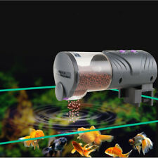 30 Days Vacation Automatic Fish Food Feeder LCD Auto Timer Pet Aquarium Tank