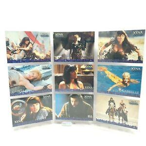 Rittenhouse Xena Warrior Princess Season 4 and 5 Trading Cards Set 1 / 2500 P1-9