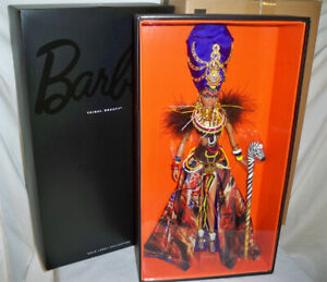 Tribal Beauty Barbie Doll Gold Label 2013 NRFB and shipper X8262