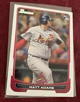 Matt Adam's 2012 Bowman Draft RC Rookie #23, Colorado Rockies