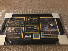 WWE Cesaro Autographed Wrestlemania 30 Plaque WWF Signed Legend Aew Andre Giant