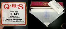QRS Q.R.S - PLAYER PIANO MUSIC ROLL - Q-141 MARGIE - QRS-1281 NEW OPEN BOX