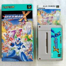 Rockman X Super Famicom Japan Ver. Capcom 1993 Megaman (Nintendo SFC) SHVC-RX