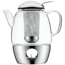 WMF Tee-Set SmarTea 3tlg. 1l | Glas Teekanne Stövchen Tee Kanne NEU & OVP