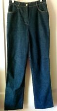 "ST. JOHN ESSENTIALS -Size 2, Rare Vintage Stonewashed Straight Leg Jeans- 32"" in"