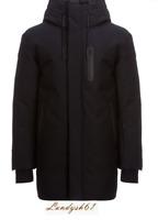 Mackage Chano Jacket Black Men's Casual Duck Down Coat Sz 46 NEW