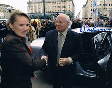 "Russia Mikhail Gorbachev 1931- genuine autograph 8""x10"" photo signed In Person"