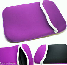 "Plain Purple Mac Pro Retina 15 15"" Case Sleeve 15.4 Inch Slip Cover Laptop"