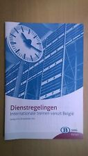 NMBS (SNCB) - dienstregelingen internationale treinen (valid till 30.09.2011)
