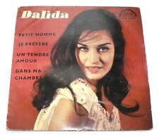 "DALIDA Petit Homme, SUPRAPHON, Licence Barclay Paris, 7"", 1967"