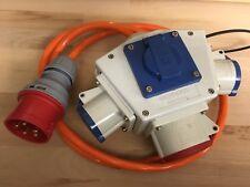 Mennekes Delta-Box Baustrom Verteiler mit CEE & Steckdose 16A Stecker 5pol CEE
