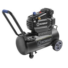 Kobalt 8-Gallon Portable Electric Horizontal Air Compressor 120V + 12.5 AMPS