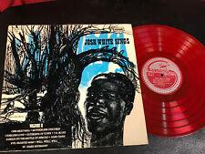 EX JOSH WHITE - SINGS VOLUME II - STINSON LP SLP 15 - RED VINYL blues RARE