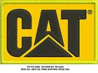 ***LOVE IT OR ITS FREE*** CATERPILLAR LOGO EMBROIDERED PATCH, IRON ON, FREE SHIP