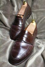 CROCKETT & JONES Shell Cordovan Harvard unlined loafers, £640 RRP, UK 9 / 9.5 E