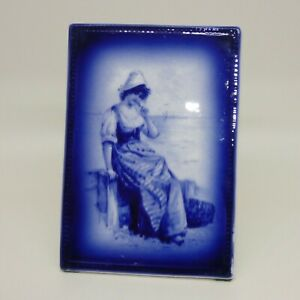 very scarce Royal Doulton Blue Childrens dressing table plaque
