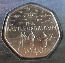 2015 Fifty Pence 75th Anniversary of the Battle of Britain 50p  BU