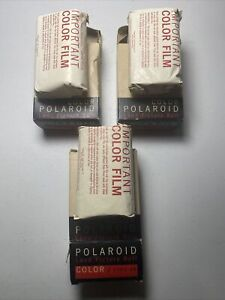 3 boxes Color Polaroid Land Picture Roll TYPE 48 Polacolor Roll FIlm